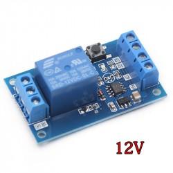 12V užsifiksuojančios (bistable) relės modulis