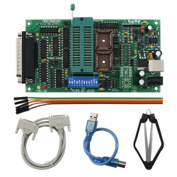 Willem PCB5.0E (0.98d12) parallel EEPROM ir FLASH atminties mikroschemų programatorius