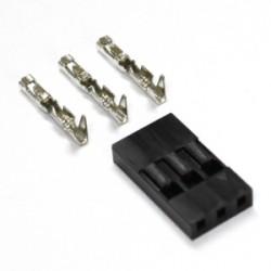Įprastinės 2,54mm jungties kontaktas (Mot.)