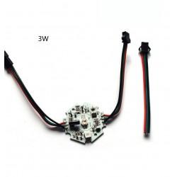 WS2811 3W RGB LED modulis