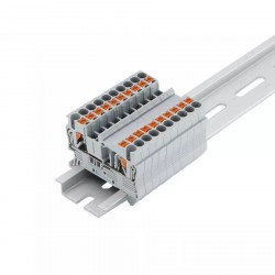 Rinklė PT2.5 (kontaktai fiksuojami mygtuku, iki 2,5mm2) mėlyna