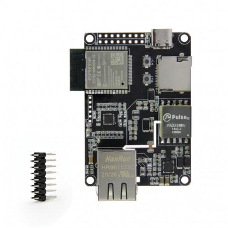 TTGO T-Internet-POE modulis (ESP32-WROOM ir LAN8720A)