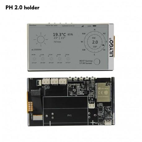 "TTGO T5 V3 ESP32 su E-paper 4,7"" ekranu"
