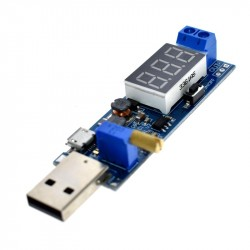 USB DC-DC buck-boost konverteris (1,2-24V 3W)