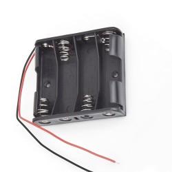 4x AA baterijų laikiklis