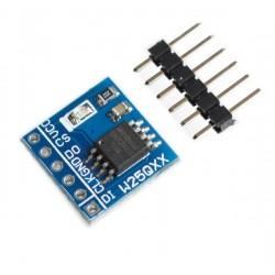 W25Q128 Flash atminties SPI modulis