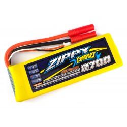 Zippy Compact 2700mAh 7,4V 2S 25C-35C LiPo akumuliatorių baterija