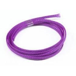 Nailoninis kabelio šarvas 3mm violetinis (1m)