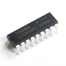 ULN2804APG mikroschema (8 x 500mA darlington masyvas)