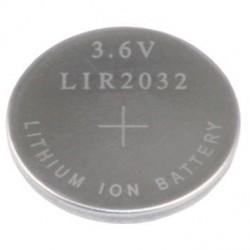 LIR2032 Li-Ion akumuliatorius 3,6V 40mAh