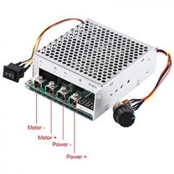 Dvikryptis variklio greičio reguliatorius (PWM signalo generatorius) 60V 30A