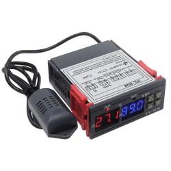 STC-3028 Temperatūros ir oro drėgnumo palaikymo termostatas (230VAC)