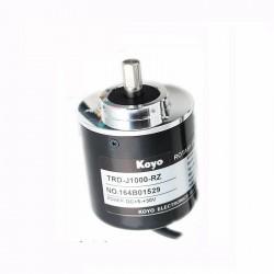 Rotacinis enkoderis TRD-J100-RZ (5-30VDC 100p/r totem pole output)