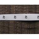 Dydžio etiketės 15x20 mm (100vnt.)