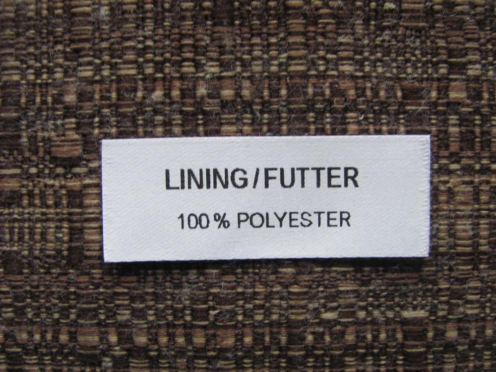 Adhesive textile labels